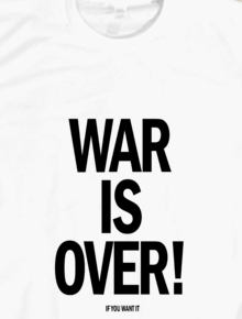 WAR IS OVER,WAR IS OVER!, DAMAI, PEACE, JOHN LENNON, YOKO ONO, HAPPY XMAS