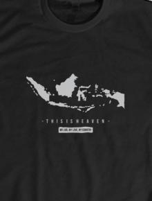 Heaven,indonesia, raya,kaos nasionalis, kaos indonesia, kaos traveling, indonesia, garuda, kaos mahatees, jaket nasionalis, jaket indonesia, jaket traveling