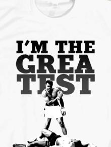 I am the Greatest,Muhammad Ali, Quote, boxing, tinju