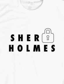 Sherlock Holmes,Kaos Sherlock Holmes, Baju Sherlock Holmes