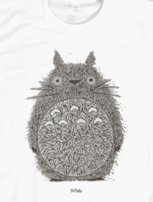Totoro,totoro, japanese, illustration