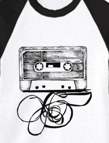 Tape,kaset, vector, sketch, sketsa,